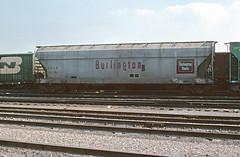 CB&Q Class LO-8B 185295 (Chuck Zeiler) Tags: cbq class lo8b 182295 burlington railroad covered hopper freight car cicero train chuckzeiler chz