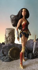 Princess of the Amazons (MaxxieJames) Tags: wonder woman diana prince princess dc dcu gal gadot barbie mattel dolls collector amazon amazonian themyscira doll