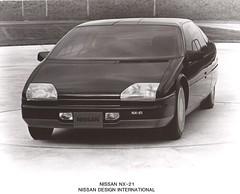 1983 Nissan NX-21 Dream Car (Hugo-90) Tags: nissan datsum press show dream prototype concept study ads advertising engine turbine gas gasoline 1983