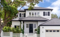 2 Mitchell Road, Rose Bay NSW