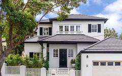 2 Mitchell Road, Rose Bay NSW