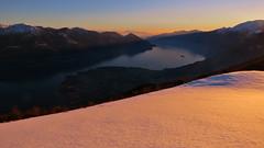 Alpenglow - Lago Maggiore - Ticino - Svizzera (Felina Photography - www.mountainphotography.eu) Tags: alpenglow tessin ticino lagomaggiore locarno cardada cimetta lake lac see meer lago alpenglühen schweiz svizzera switzerland snowshoe snowshoeing racchettata ciaspolata ciaspole turismo tourism tourismus