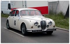 MKII Jaguar (zweiblumen) Tags: jaguar mkii saloon touringcar british vintage classic 779xkt 1965 16 coventrymotofest 2016 coventry westmidlands uk canoneos50d picmonkey