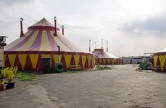Tents, Tempelhof (AstridWestvang) Tags: berlin germany tempelhof tent airfield abandoned
