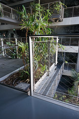 2018-04-FL-183524 (acme london) Tags: barcelona corridor detail fira handrail hotel jeannouvel landscape planting renaissancehotelfira spain