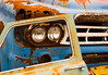 Car wreck 1 (klauslang99) Tags: abstract klauslang junkyard car wreck color colour composition rust old abandoned