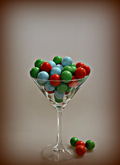 2018 Colourful Candy Martini (dominotic) Tags: 2018 lolly confectionery candy smileonsaturday candymartini orange blue green circle sydney australia