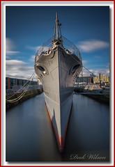 SLEEK (Deek Wilson) Tags: hmscaroline royalnavaldestroyer belfast vessel battleofjutland ww1 worldwarone northernireland longexposure sleek royalnavy
