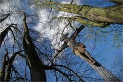 Ostern (by Andy) Tags: genusstour blicknachoben ostern kruzifix jesus 220hs ixus böhmen cz cross 2017