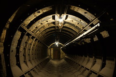 Launch Tube? (steve_whitmarsh) Tags: london euston tunnel abandoned derelict station tube underground eustonstation subway