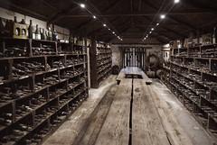 Brand's Laira Winery (Filippo Pappalardo) Tags: coonawarra brandslaira winery rural chic rustic australia southaustralia cottage light table wines cellar bottles old dark vintage
