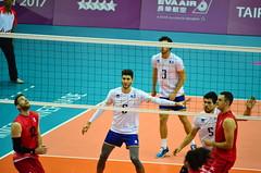 FRA VS CAN (yenju.hsu) Tags: taipei universiade 2017 fisu volleyball 世大運