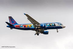 A320_OO-SND - AEROSMURF-5838 (Jantje Photography) Tags: 2018 aerosmurf brusselsairport airbus