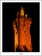 Wallace Monument (flatfoot471) Tags: 2007 landscape monument night normal november scotland stirling stirlingshire unitedkingdom urban wallacemonument gbr
