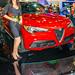 A Wonderful Alfa Romeo Model With A Red Alfa Romeo Stelvio