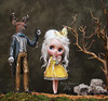 Ahem (pure_embers) Tags: pure embers middie blythe doll dolls photography uk laura england girl pureembers iris white alpaca hair lily emberslily linea lost key pumpkinbelle steven stag story