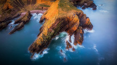 Long Haul (Augmented Reality Images (Getty Contributor)) Tags: portknockie longexposure coastline sunrise waves dji cliffs water seascape scotland morayfirth landscape polarprofilters mavicair rocks unitedkingdom gb