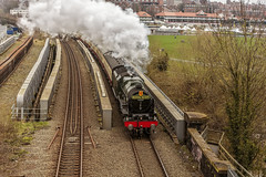 Mainline_2018_04_14_022 (Phil_the_photter) Tags: northwalescoastexpress 6100 46100 chester deebridge penmanmawr royalscot d1944 brushtype4 class47 valley holywell steam steamengine steamloco steamrailway anglesey