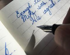 My Pen, Mi bolígrafo, Mon stylo, Et calamum. (Phototrain Photography) Tags: mypen mibolígrafo monstylo etcalamum write escribir scribo english spanish french latin