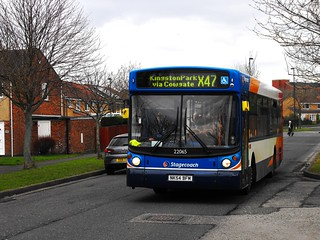 Stagecoach in Newcastle 22065 NK54BFM