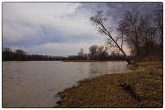 Changing  Weather (Ted Bowman Photography) Tags: maumeeriver spring tamron2470f28g2 vantasselaccess woodcounty