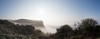 The Sea Mist Rolled In (Shastajak) Tags: seamist cliffs takenfromthelandslipsite ecclesbourneglen earlymorning hastings hastingscountrypark 8images panorama