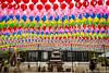 (Dubai Jeffrey) Tags: bongeunsa buddhist korea lanterns seoul spring temple