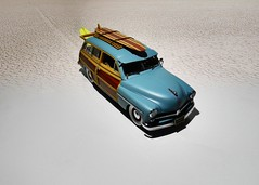 1949 Mercury Woody Wagon - The Danbury Mint 1:24 (BlueAtlantic38) Tags: 1949 mercury woody wagon surf ford v8 americancar hobby scalemodel 124 thedanburymint usa