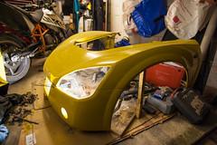 ZF2Y7301.jpg (Adam the ribless) Tags: diy paint clam fiberglass resin vx220 vauxhall sportscar cracks lotus ly36 repair