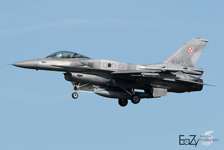 4043 Polish Air Force Lockheed Martin F-16C Fighting Falcon