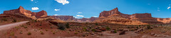 Canyonlands Ultra-wide Panorama (ProPeak Photography - Thanks for 600,000 views!) Tags: america blue blueskies canyon canyonlandsnationalpark cliff clouds famousplace geologicformation green internationallandmark landmark landscape mesa moab nps nationalpark nature northamerica orange panorama path places potashroad promontory red road rocks shafercanyon shaferroad summer texture touristattraction trail travel traveldestination travelandtourism usa unitedstates utah yellow desert ngc