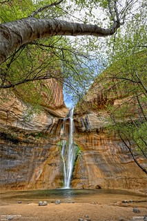 Lower Calf Creek Falls in Utah