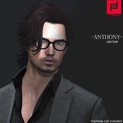 Anthony (FABIA.HAIR) Tags: hair rigged moda man look piktures fabia meef head special second sl secondlife event fashion hairstyle life avatar spam style shopping new release best love everyday art