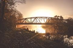 DSCF1618.jpg (zuikonex) Tags: hannover hanover leine bridge dawn morning river sunshine