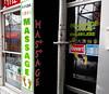 Asian Massage Parlor (Walker Larry) Tags: massage montreal massotherapie chinatown therapeutique salon datang parlor bodyrubs bodyrub happy ending masseuses masseuse body rub tug rugs parlour asian arrows mp amp arrow chinese