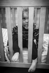 (RudyKoops) Tags: voetjes fop speen dyfrax difrax pyjama zoon kind kinderkamer ledikant prisoned prison son awake sleep bed baby zw zwartwit blackwhite blackandwhite bw