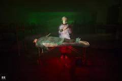 Autopsia (albertoleiras) Tags: autopsia canon6d canon1740f4l lightpainting longexposure largaexposicion nocturna muerte camilla sierra medico hospital