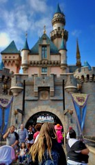 The Princess Returns. (thnewblack) Tags: lg v30 snapseed android smartphone castle disneyland california outdoors lensblur 16mp f16 hdr aicam