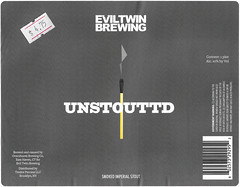 UNSTOUTTD by Martin Justesen for Evil Twin (Label_Craft) Tags: beer beers craftbeer labels craft labelcraft bottle can design illustration type fonts burp beerme brew suds brewery eviltwin