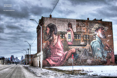 What Do You Do When Your Heroes Disappoint You? (DetroitDerek Photography ( ALL RIGHTS RESERVED )) Tags: allrightsreserved 313 detroit motown independentartist mural urban city cityscape kickstarter tedleo hdr 3exp canon 5d mkii digital artist realdetroitsky gratiot detroitdderek midwest usa america support arts supportyourfans may 2018 winter ice snow motorcity