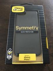 New iPhone case. 📱 #kidsproof 😂 #tnxhb #Otterbox #sleekprotection (Travel Galleries) Tags: series symmetry sturdy black case iphone8 iphone7 kidsproof tnxhb otterbox sleek protection