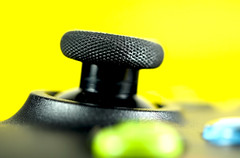 Guess what it is 2 (Skyline:)) Tags: knob pad joystick colour controller xbox guesswhatitis crazytuesdaytheme 7dwf