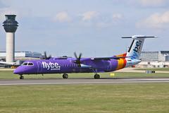 G-KKEV DHC-8Q 402 Flybe MAN 18-04-18 (PlanecrazyUK) Tags: egcc manchester man ringway manchesterairport gkkev dhc8q402 flybe 180418