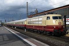 DB 103 113-7 (davidvines1) Tags: railroad railway rail train electric locomotive station trier deutschebahn db h