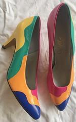 Vintage 1980s Shoes (profkaren) Tags: 1980sshoes vintageshoes