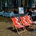 Het Plein Den Haag in zomerse stemming