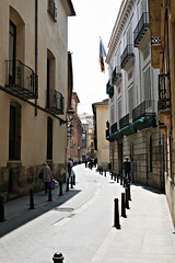 Calle del Trinquete de Caballeros - València (Kiko Colomer) Tags: francisco jose colomer pache kiko valencia valence palacios iglesia centro hístorico urbano ciudad barrio xerea trinquete caballeros san juan hospital