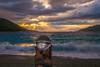 The crystal ball at sunset (Vagelis Pikoulas) Tags: sun sunset porto germeno greece tokina canon landscape sea seascape