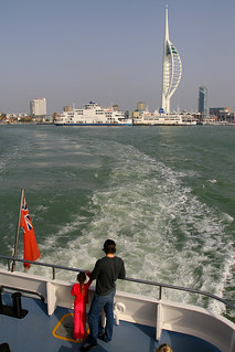 Portsmouth Harbour, October 9th 2010