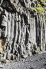 Columnar Basalt (wyojones) Tags: iceland reynir reynisfjara reynisfjall víkímýrdal vík beach blacksandbeach basalt coolingjoints columnarjoints coolingcracks columnarbasalt cooling contracting hexagonal erosion cliffs